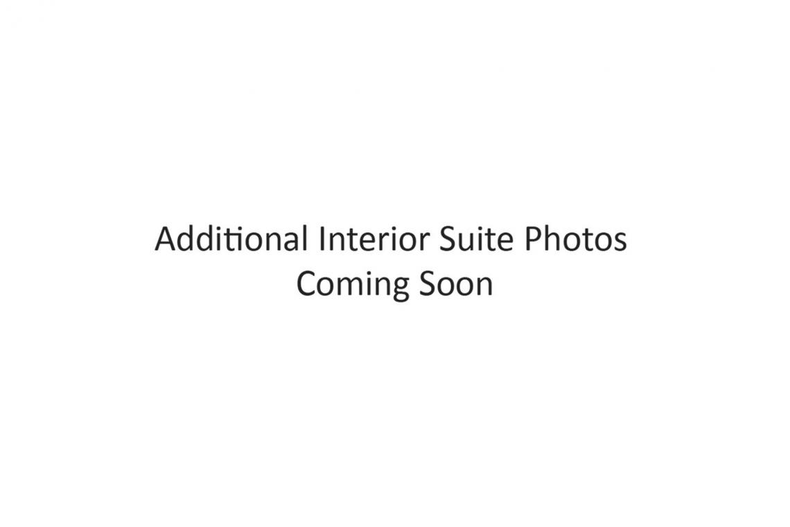Text: Additional Interior Suite Photos Coming Soon