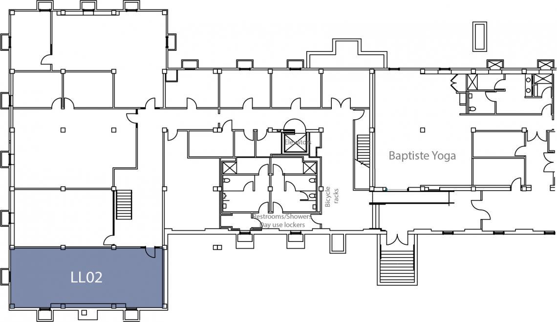 Suite LL02 Floor plan