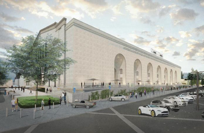 Rendering the Oakland Civic